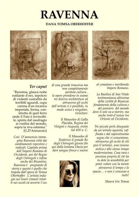 Dana Tomsa Oberhoffer - Cartella di litografie - Ter Caput - presentazione