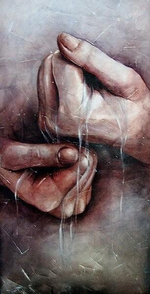 Hands study  ( 2 )
