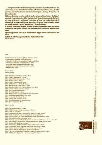 Cartella di litografie - Ter Caput