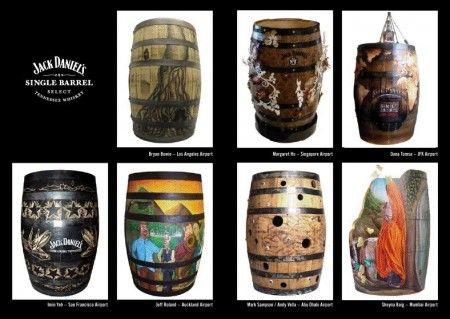 Single Barrel Art Jack Daniel's