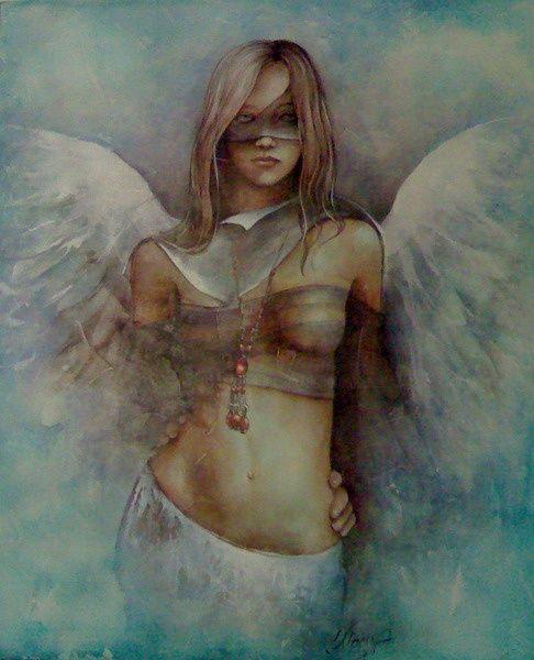 Dana Tomsa Oberhoffer - Blu Angel